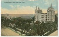 Temple Square, Salt Lake City [front]