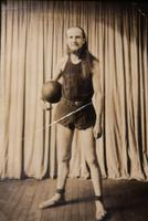 House of David basketball player posed in uniform [slide]