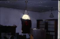 Inside of dilapidated room [slide]