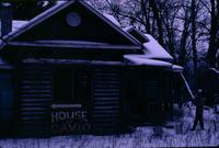 House of David building covered in snow [slide]