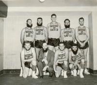 House of David basketball team posed in uniform