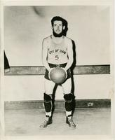 Bob Hallisey, Captain and guard of the House of David basketball team