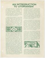 An introduction to utopianism