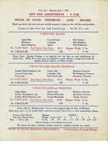 Price List - Effective June 1. 1961 Gift Box Assortments - 9 Pak