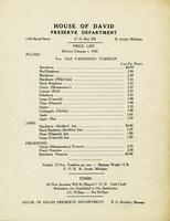 Price List - Effective Feb. 1, 1956