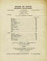 Price List - Effective Sept. 15, 1955