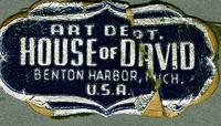 Art Dept. House of David, Benton Harbor, U.S.A