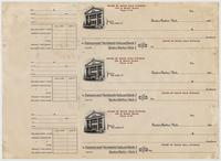 Checks of the House of David Cold Storage