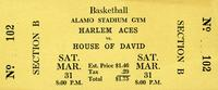 Harlem Aces vs. House of David