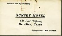 Sunset Motel