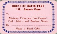 House of David Park 194 season pass