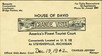 House of David Grande Vista America's finest tourist court