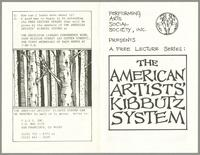 American Artists' kibbutz system