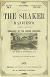 The Shaker Manifesto - sample cover page